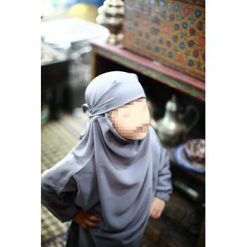 jilbeb fille gris clair