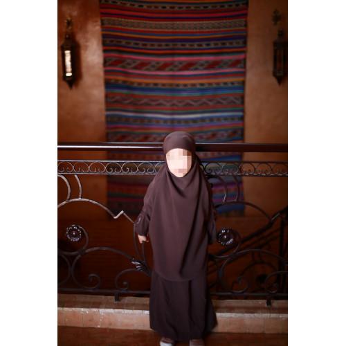 Jilbeb fille marron