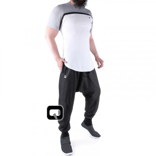 Saroual qaba'il jogging noir