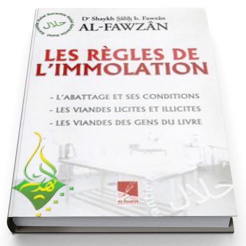 Les règles de l'immolation - Edition Al Hadith