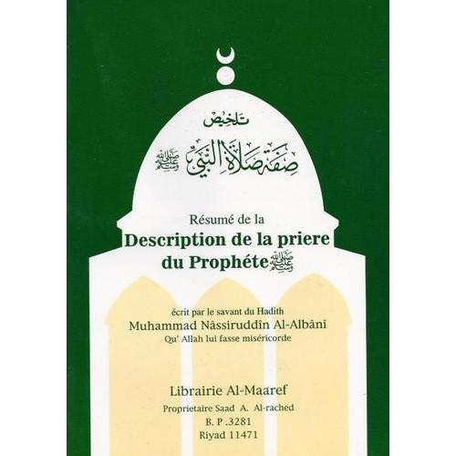 Résumé de la Description De La Prière Du Prophète - Edition Al Maaref