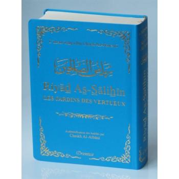 Riyâd As-Salihine de l'Imam Al Nawawi - Bleu Ciel - De Poche - Les Jardins des Vertus - Edition Orientica