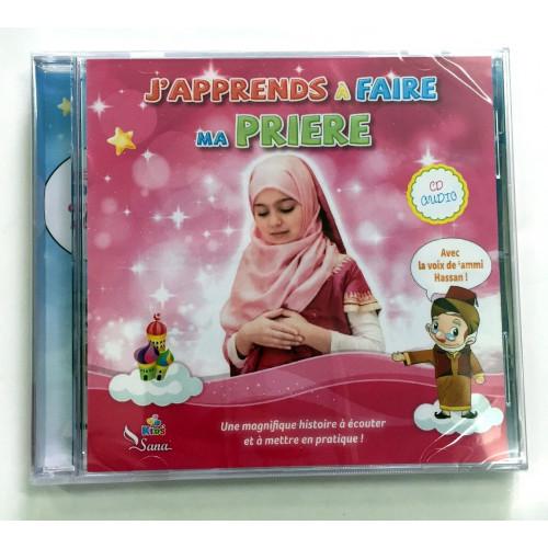 CD Audio - J'Apprends à Faire Ma Prière - Fille - Edition Sana