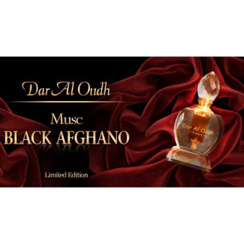 Musc Black Afghano - 6 ml