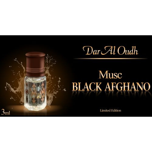 Musc Black Afghano - 3 ml