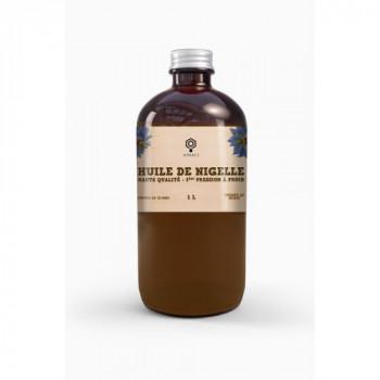 Huile de graine de nigelle 1 litre (habba sawda) Assali