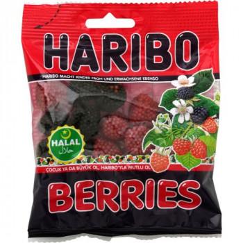 Framboise HARIBO HALAL 100G