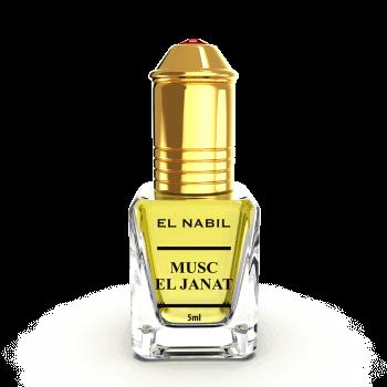 Musc El Janat - Parfum : Mixte - Extrait de Parfum Sans Alcool - El Nabil - 5 ml