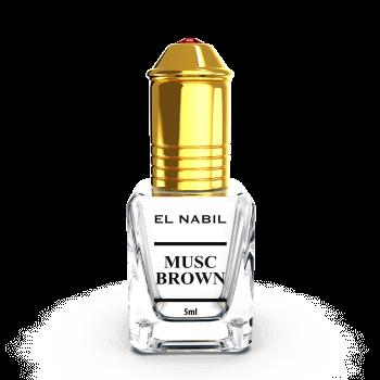 Musc Brown - Parfum : Mixte - Extrait de Parfum Sans Alcool - El Nabil - 5 ml