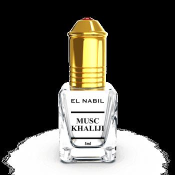 Musc Khaliji - Parfum : Homme - Extrait de Parfum Sans Alcool - El Nabil - 5 ml