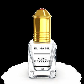 Musc Mayssane - Parfum : Mixte - Extrait de Parfum Sans Alcool - El Nabil - 5 ml
