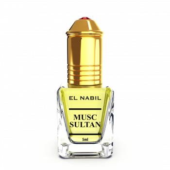 Musc Sultan - Parfum : Homme - Extrait de Parfum Sans Alcool - El Nabil - 5 ml