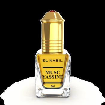 Musc Yassine - Parfum : Homme - Extrait de Parfum Sans Alcool - El Nabil - 5 ml