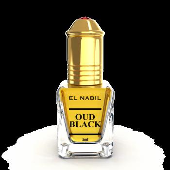 Oud Black - Parfum : Homme - Extrait de Parfum Sans Alcool - El Nabil - 5 ml