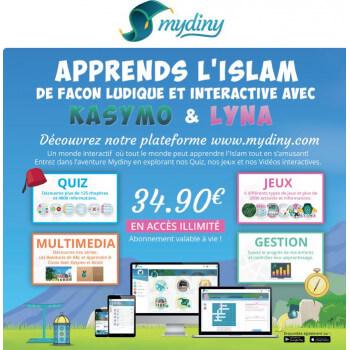 Coffret Abonnement à Vie My Diny - Accès Illimités - Mydiny