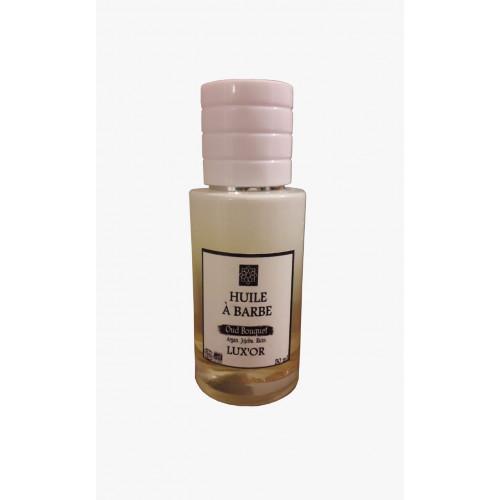 Barber Oil - Oud Bouquet - Huile d'Argan, Jojoba et Ricin BIO - 50 ml
