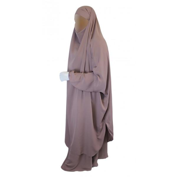 Jilbab 2P Jupe , Rose Poudre 174 , Wool Peach , Jilbeb El Bassira ,  5461