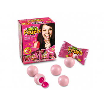 Bonbons - Juicy Pearls - Bubble Gum - Fini - Halal