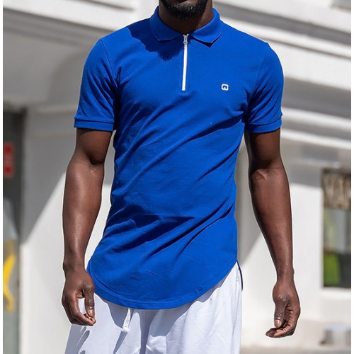 Tee shirt qaba'il bleu marine