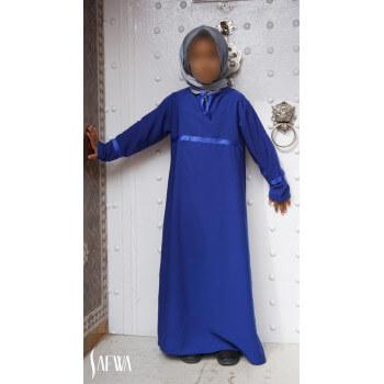 Arbaya Enfant - Bleu Roi - Safwa