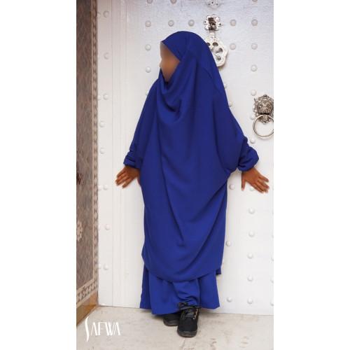 Jilbab Enfant - Bleu Roi - Safwa
