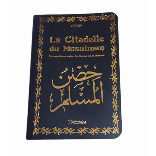 Citadelle Du Musulman - Noir - Francais Arabe Phonétique - Edition Orientica