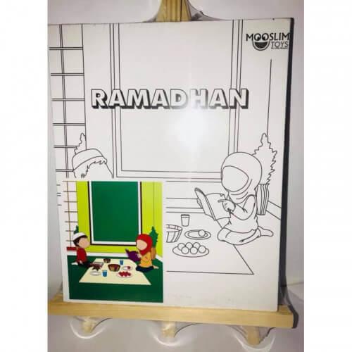 Kit Toile à Peindre - Ramadhan (Jeûne) - Mooslim Toys
