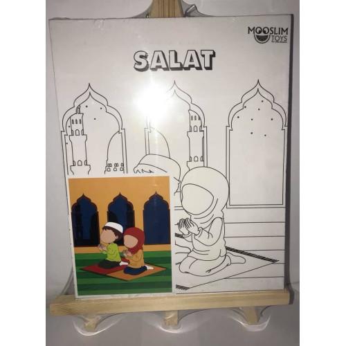 Kit Toile à Peindre - Salât (Prière) - Mooslim Toys