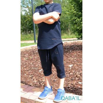 Ensemble Nautik Kid - Bleu Nuit - Sarouel + T-Shirt de 3 à 16 ans - Qaba'il