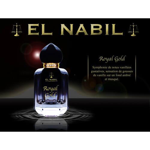 "Parfum Spray El Nabil ""Royal Gold"" 50 ml"