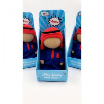 Mon Doudou Tout Doux : Amine - Version Sans Yeux - Mooslim Toys