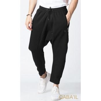 Sarouel jogging noir Qaba'il : Legend Neo