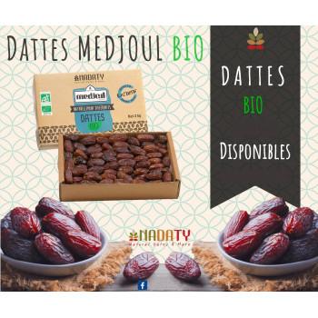 Dattes Medjoul BIO de Qassim de Médine - 3 kg - Nadaty