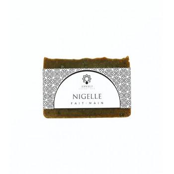 Savon à la Nigelle - Artisanal, Fait Main - 100 gr - Assali