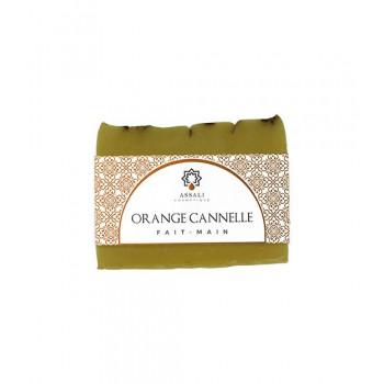Savon Orange Cannelle - Artisanal, Fait Main - 100 gr - Assali