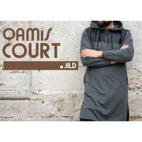 Qamis Jild court Qaba'il Anthracite