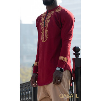 Sweat Rouge Qaba'il : Etniz Africaine