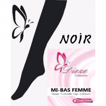 Mi-Bas Dieze Noir by UmmHafsa
