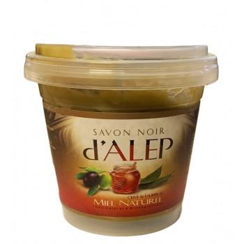 Savon Noir d'Alep au Miel Naturel - 100% Naturel et Biodégradable - 200 gr