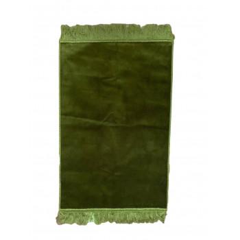 Vert Foncé - Tapis de Prière Uni - Enfant - 47,50 x 87 cm