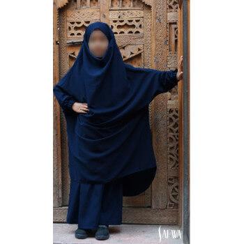 Jilbab Enfant - Bleu - Safwa