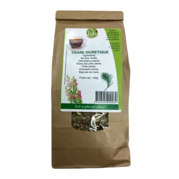 Diurétique - Rétention d'Eau - Tisane 100% Naturel - Sachet 100 gr