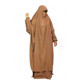 Jilbab 2P Jupe - Peach 150 - Wool Peach - Jilbeb El Bassira
