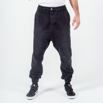 Sarouel Pantalon Jogging Basic Prune - DC Jeans