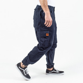 Saroual Pantalon Cargo Basic Navy - Usual Fit - DC Jeans