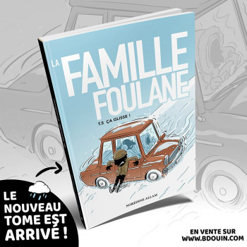 BD - Famille Foulane 4 - Des Récréations Pleines d'Histoires T4 - Edition Du Bdouin