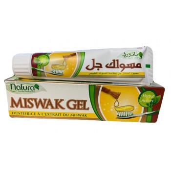 Dentifrice à l'Extrait du Meswak Gel - 100 gr - Natura Miswak