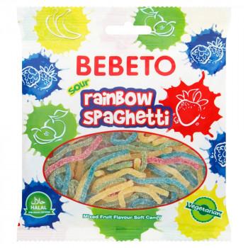 Bonbons Spaghetti au Cola - Végétarien - Bebeto - Halal - Sachet 80gr
