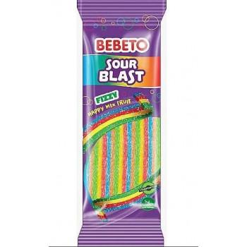 Bonbons Wacky Sticks - Pomme - Bebeto - Halal - Sachet 180 gr