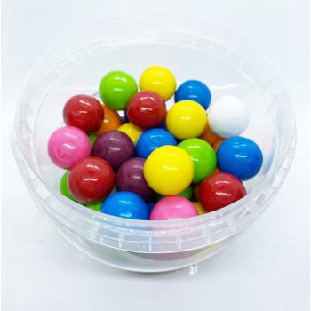 Bonbons Mixe de Fruits Boule de Bubble Gum - Pompito Bebeto - Halal - Boite de 250gr